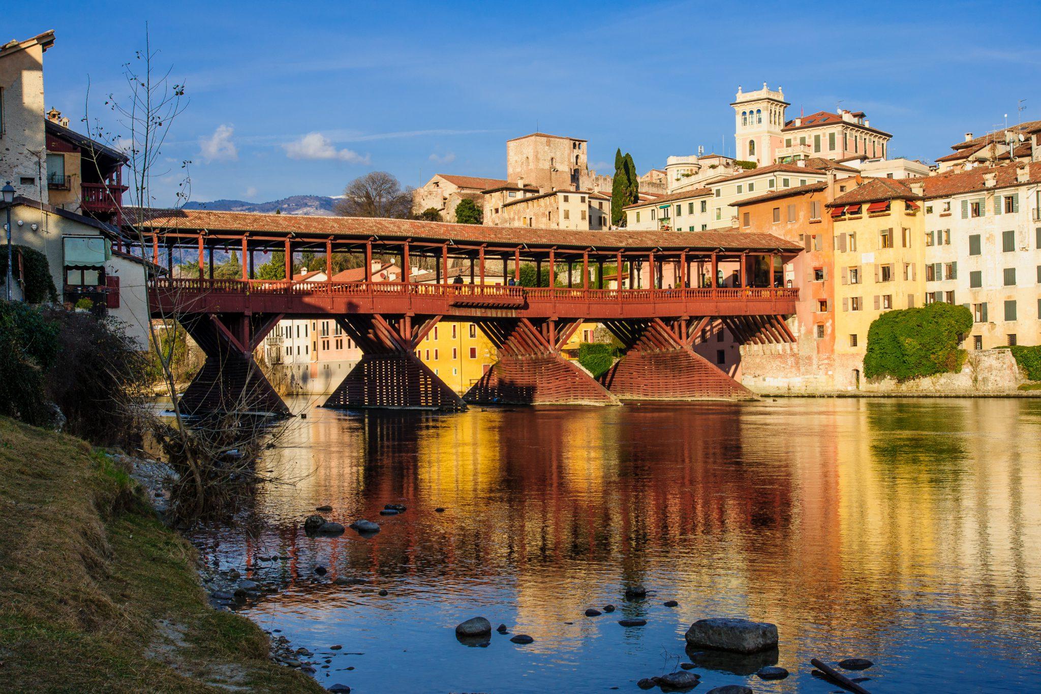 Architetto Bassano Del Grappa il ponte di bassano: un gioiello di architettura lignea