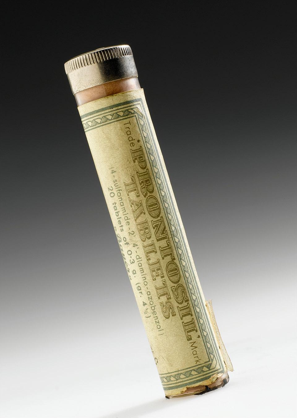 Confezione di tavolette di Prontosil, Germania, 1935 - 1950